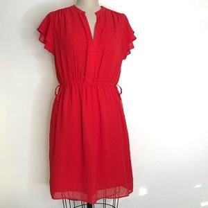 H&M 12 Red dress Sz 12